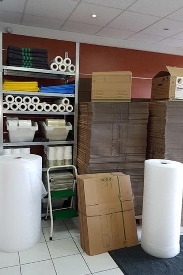 Emballage déballage déménagement